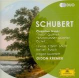 SCHUBERT - Levine - Quintette avec piano op.posth.114 D.667 'Die Forelle