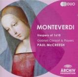MONTEVERDI - McCreesh - Vespro della beata Vergine (1610)
