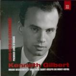 CLERAMBAULT - Gilbert - Livre premier d'orgue orgue Beckerath Oratoire Saint-Joseph du Mont-Royal