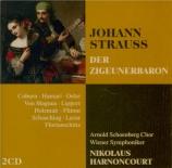 STRAUSS - Harnoncourt - Der Zigeunerbaron (Le baron tzigane), opérette W Live Recording