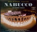 VERDI - Guadagno - Nabucco, opéra en quatre actes Live Recording Verona 1992