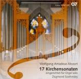 MOZART - Szathmary - Sonate d'église n°14, pour orgue et orchestre en do arr. orgue