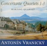 VRANICKY - Martinu Quartet - Quatuor concertant n°1 en si bémol majeur