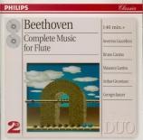 BEETHOVEN - Gazzelloni - Sérénade pour flûte et piano op.41