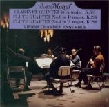MOZART - Wiener Kammeren - Quintette pour clarinette et cordes en la maj Import Japon