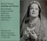 STRAUSS - Böhm - Ariadne auf Naxos (Ariane à Naxos), opéra op.60
