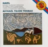 RAVEL - Tilson Thomas - Boléro, ballet pour orchestre en do majeur