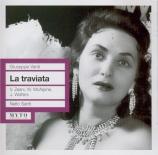 VERDI - Santi - La traviata, opéra en trois actes live Covent Garden London 13 - 1 - 1960