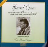 Grand Opera conducting Leonard Bernstein