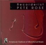 Recorderist American Festival of Microtonal Music