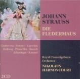 STRAUSS - Harnoncourt - Die Fledermaus (La chauve-souris), opérette WoO