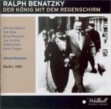 BENATZKY - Strasser - Der König mit dem Regenschirm (Le roi et le parapl