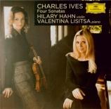 IVES - Hahn - Sonate pour violon et piano n°1