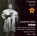 VERDI - Previtali - Ernani, opéra en quatre actes