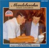 MENDELSSOHN-BARTHOLDY - Zenaty - Concerto pour violon et orchestre en mi Import Japon