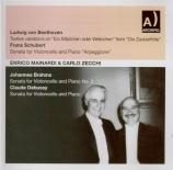 BEETHOVEN - Mainardi - Douze variations pour violoncelle et piano sur 'E