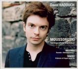 MOUSSORGSKY - Kadouch - Tableaux d'une exposition, pour piano