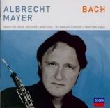 Werke für Oboe, Orchester und Chor