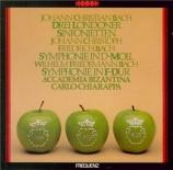 BACH - Chiarappa - Sinfonietta n°1 en la majeur 'Londonienne'