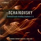 TCHAIKOVSKY - Järvi - Symphonies (intégrale)