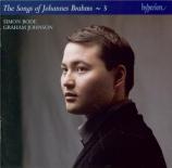 The Songs of Johannes Brahms Vol.3