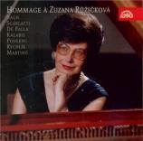 Hommage à Zuzana Ruzickova