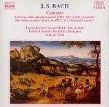 BACH - Antal - Schweigt stille, plaudert nicht, cantate pour solistes et