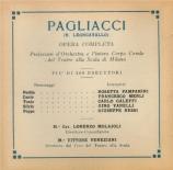 LEONCAVALLO - Molajoli - I Pagliacci (Paillasse)