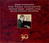 RACHMANINOV - Hough - Concerto pour piano n°1 en fa dièse mineur op.1