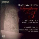 RACHMANINOV - Shui - Symphonie n°3 en la mineur op.44
