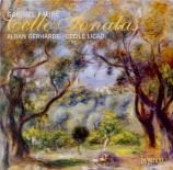 FAURE - Gerhardt - Sonate pour violoncelle et piano n°1 en ré mineur op
