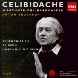 BRUCKNER - Celibidache - Messe n°3 en fa mineur WAB 28
