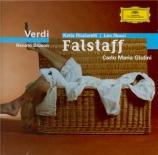 VERDI - Giulini - Falstaff, opéra en trois actes (Live recording) Live recording