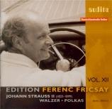 STRAUSS - Fricsay - An der schönen, blauen Donau (Le beau Danube bleu) Edition Fricsay Vol.12