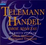 TELEMANN - Zupnik - Sonate pour hautbois et basse continue, en si bémol