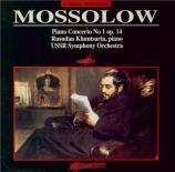 MOSSOLOV - Kutuzov - Concerto pour piano op.14
