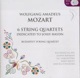 6 String Quartets dedicated to Josef Haydn