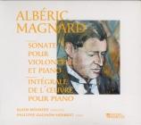MAGNARD - Meunier - Sonate pour violoncelle et piano op.20