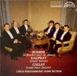 DAUPRAT - Czech Philharmo - Grand sextuor