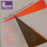 20th Century Russian Piano Music