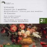 VIVALDI - Pickett - Concerto pour deux mandolines, cordes et b.c. en sol