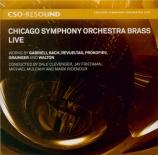 WALTON - Chicago Symphon - Crown imperial Arrangements for Symphonic Brass