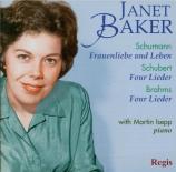 SCHUMANN - Baker - Frauenliebe und -Leben (L'amour et la vie d'une femme