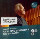 STRAUSS - De Waart - Eine Alpensinfonie, pour grand orchestre op.64