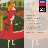 PROKOFIEV - Ashkenazy - Cendrillon, ballet en 3 actes, pour orchestre op