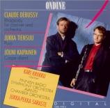 DEBUSSY - Kriikku - Rapsodie n°1, pour clarinette avec piano ou orchestr