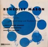 MASON - Metzmacher - Quatuor à cordes n°1
