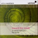 nach innen - toward the inside