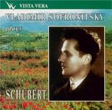 Vladimir Sofronitsky plays Schubert