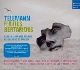 TELEMANN - De Marchi - Flavius Bertaridus, Konig der Longobarden, opéra
